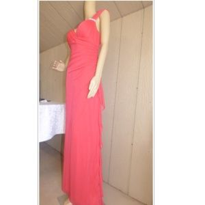 Blondie Nites Junior's Cutout Back Gown Size 9